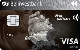 Visa Infinite в USD