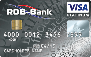 Visa Platinum в USD