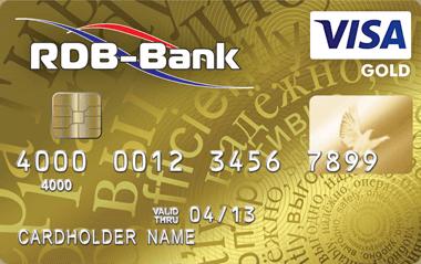 Visa Gold в USD