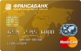 MasterCard Gold в EUR