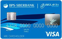 Visa Classic «Белавиа» в USD