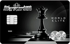 World Elite MasterCard в EUR