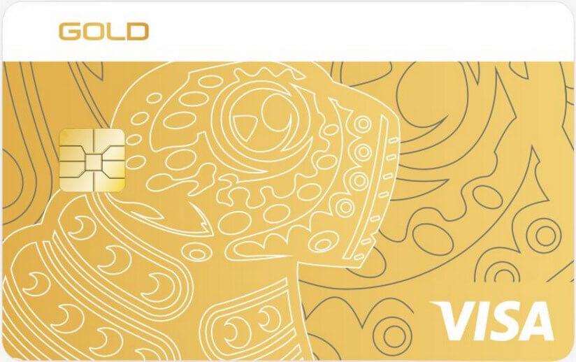Visa Gold/MasterCard Gold в USD
