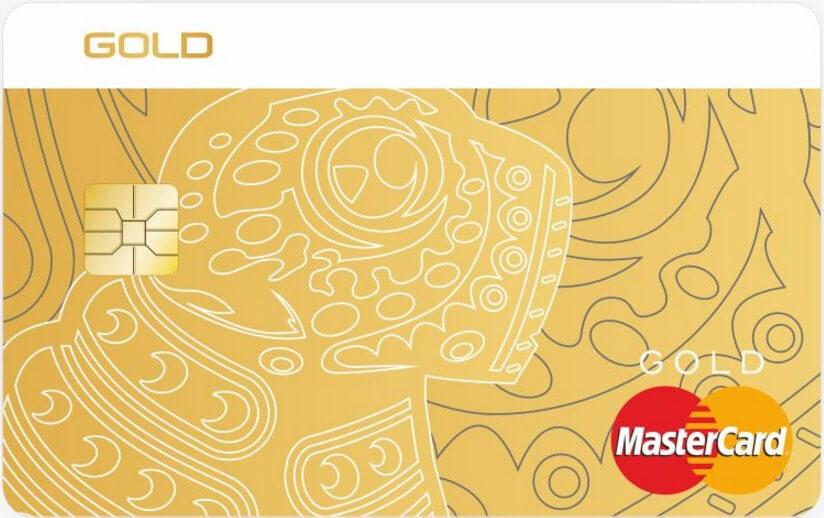 Visa Gold/MasterCard Gold в EUR