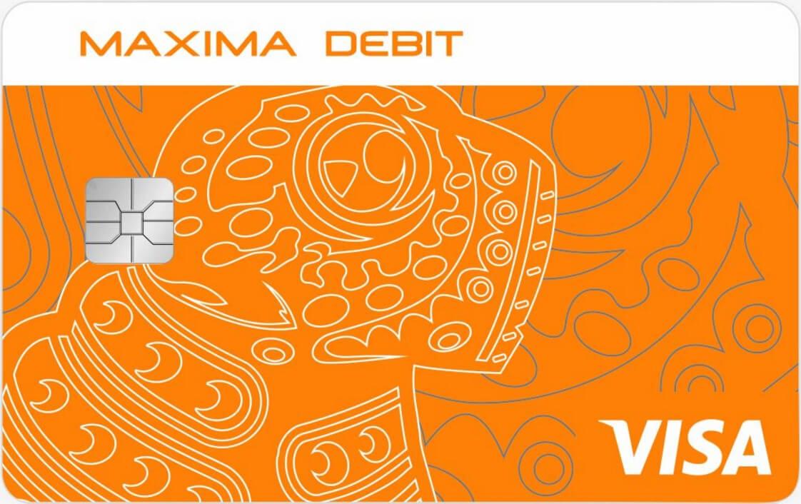 Maxima Debit в USD