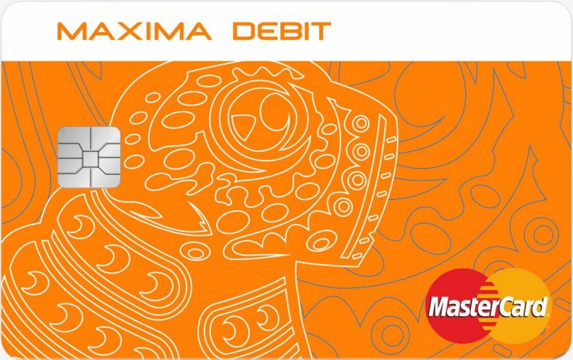 Maxima Debit в EUR
