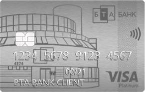 Накопительная карточка «Кэшью» Visa Platinum