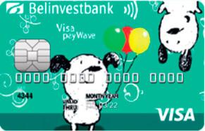 Детская карта Visa Electron (EUR)