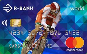 MasterCard world «Велокарта»
