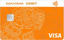Maxima Debit Visa Classic (USD)