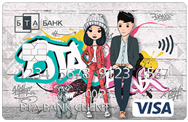 Подростковая карточка (USD)