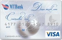 Дебетовая карта Visa Classic в EUR