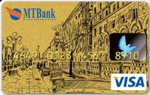 Дебетовая карта Visa Gold в BYN